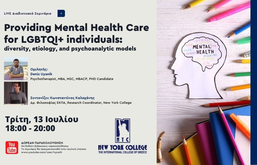 Providing Mental Health Care for LGBTQI+ individuals: diversity, etiology, and psychoanalytic models