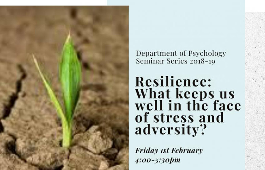 Resilience: What keeps us well in the face of stress and adversity?